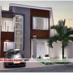 Desain Rumah Minimalis 2 Lantai a