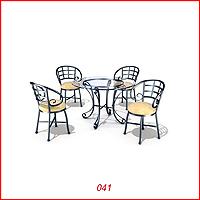 041.Kursi Dan Meja Makan Cover