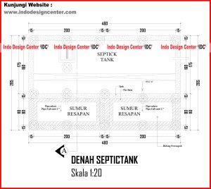 052.Denah Septicktank