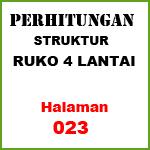 Perhitungan Struktur Ruko 4 Lantai (23)