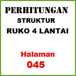 Perhitungan Struktur Ruko 4 Lantai (45)
