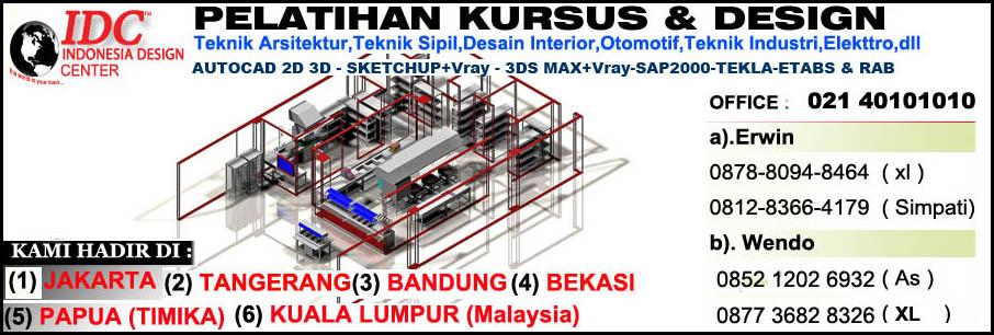 Kursus Sketchup Di Malang