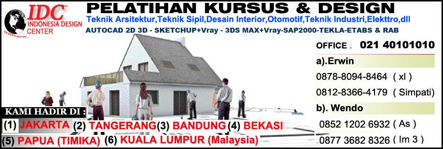 Kursus Sketchup Di Medan