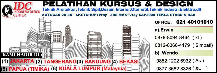 Kursus Sketchup Di Surabaya