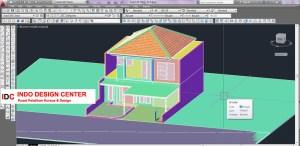 Hasil Kursus CAD 2D dan 3D Teh Irma Ujung Berung Bandung (1)