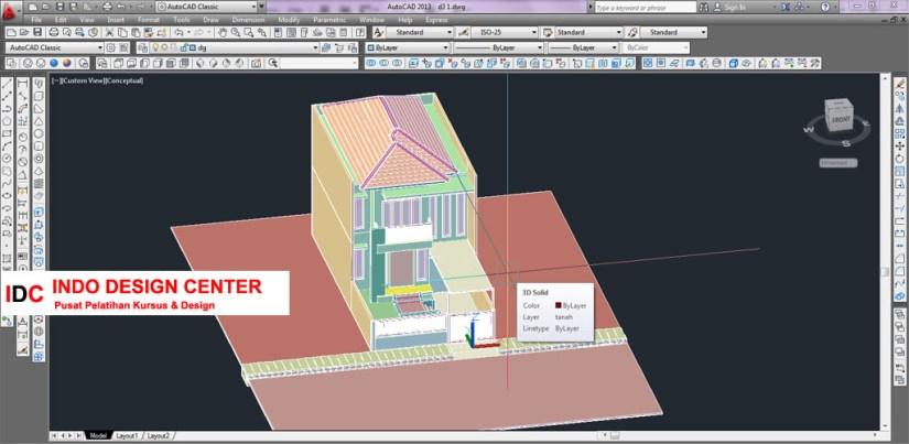 Hasil Kursus CAD Mas Nova Antapani Bandung Jawa Barat (3)