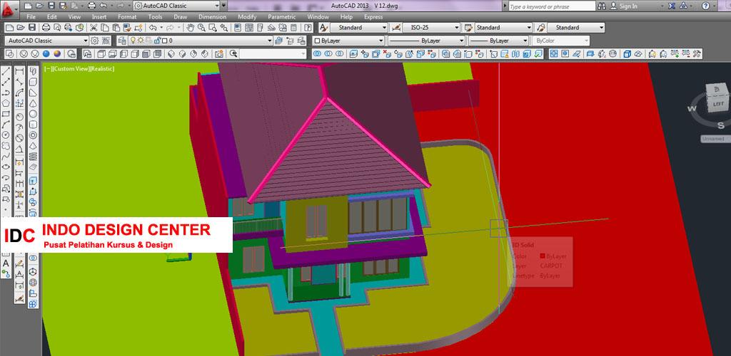 Kursus AUTOCAD 2D 3D Mba Eli Di Bandung (2)