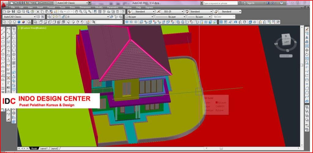 Kursus AUTOCAD 2D 3D dan 3Ds Max Mas Anto Di Bandung (1)