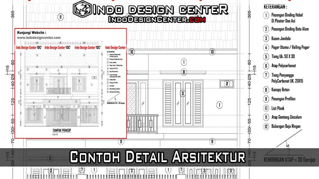 Contoh Detail Arsitektur