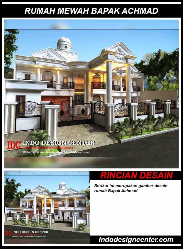 Jasa Desain Rumah Mewah Bapak Achmad di Bogor