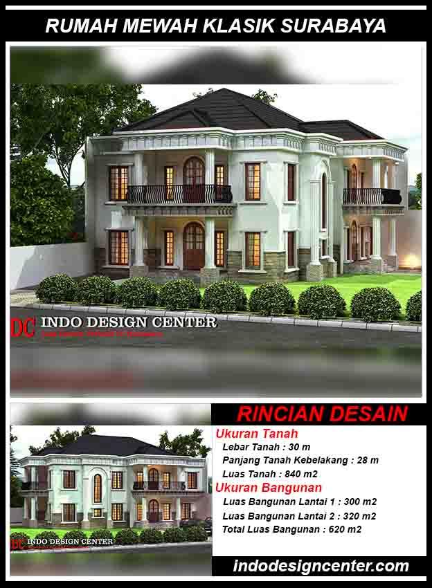 Jasa Desain Rumah Klasik Di Surabaya