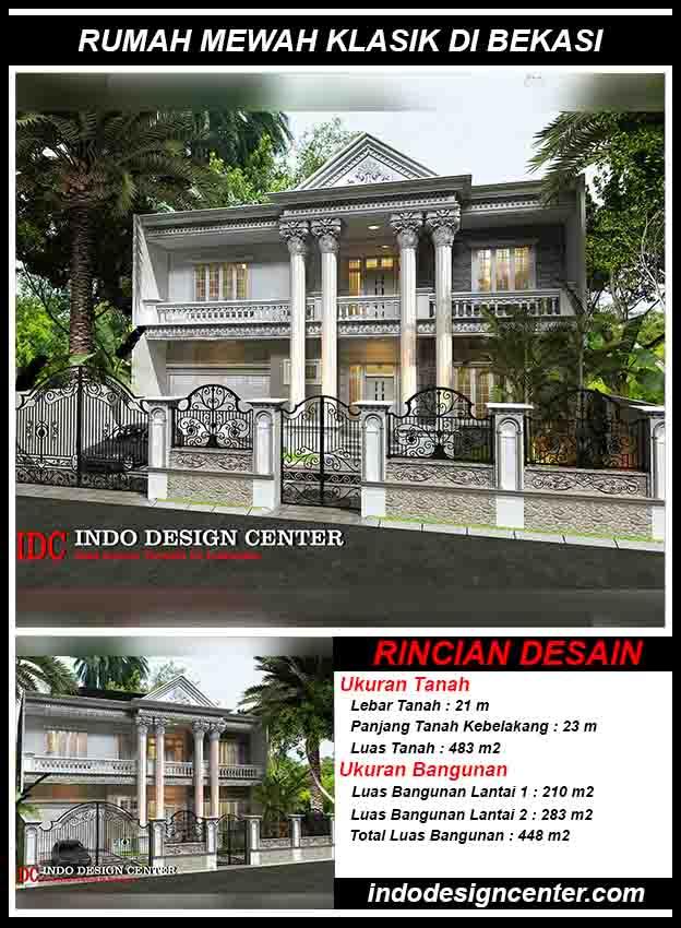Jasa Desain Rumah Mewah Klasik Di Bekasi