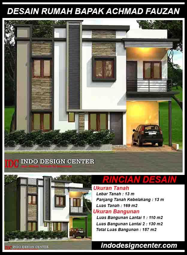 Jasa Arsitek Di Bandung Desain Rumah Bapak Achmad Fauzan