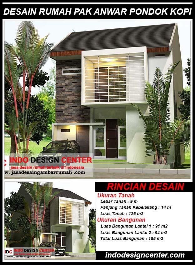 Desain Rumah Pak Anwar Jakarta Timur