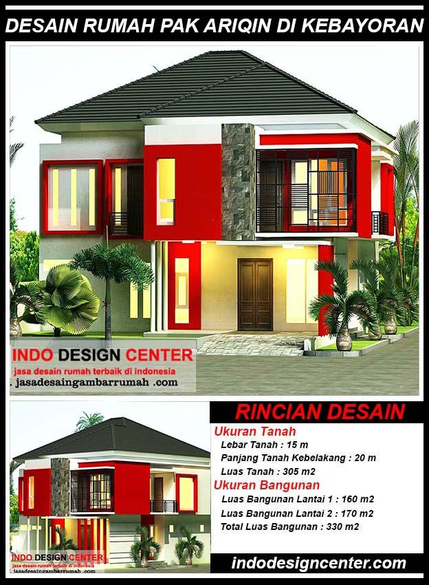 Desain Rumah Pak Ariqin Di Kebayoran