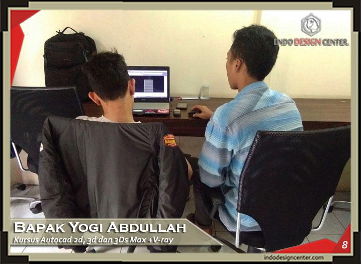 Kursus 2D, 3D dan 3Ds Max + Vray Yogi Abdullah di Bandung