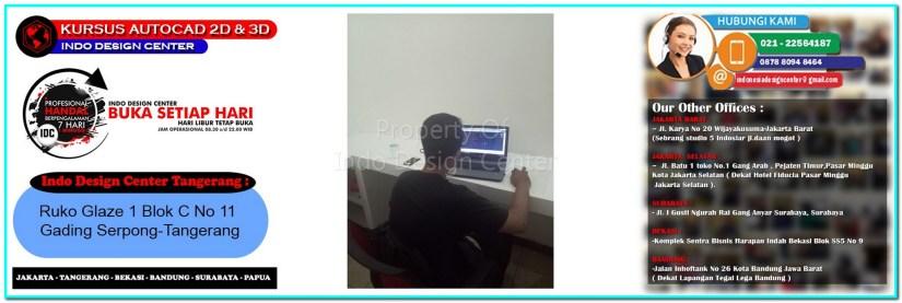 Kursus Drafter AutoCAD Di Mekarbakti-Tangerang-Jakarta-Bekasi-Bandung-Surabaya
