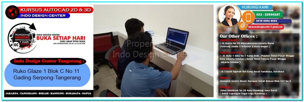 Kursus Drafter AutoCAD Di Peusar-Tangerang-Jakarta-Bekasi-Bandung-Surabaya