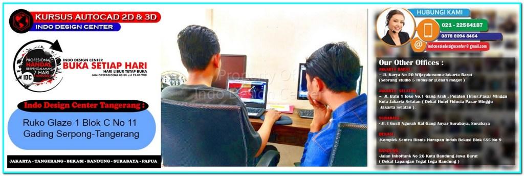 Kursus Drafter AutoCAD Di Rancakalapa-Tangerang-Jakarta-Bekasi-Bandung-Surabaya