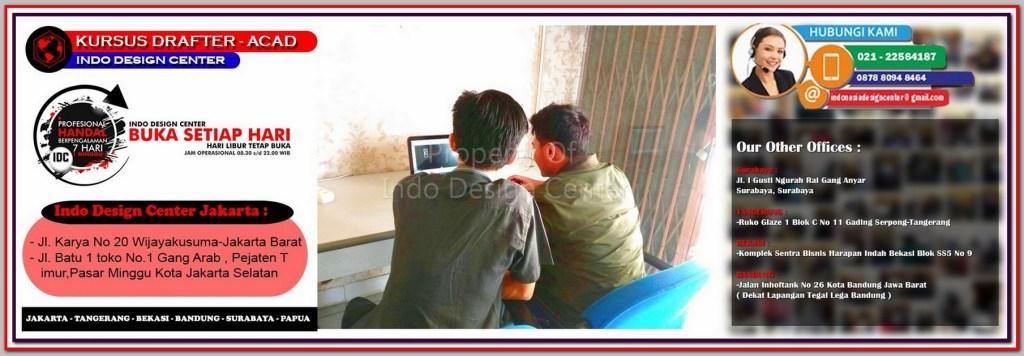 Kursus AutoCAD Terbaik Di Cempaka Baru - Jakarta - Tangerang - Bekasi - Bandung - Surabaya