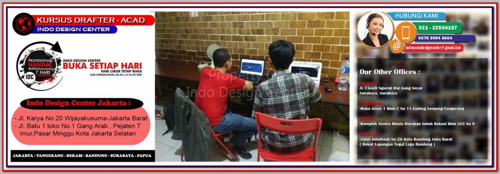 Kursus Gambar Denah Di Kampung Rawa - Jakarta - Tangerang - Bekasi - Bandung - Surabaya