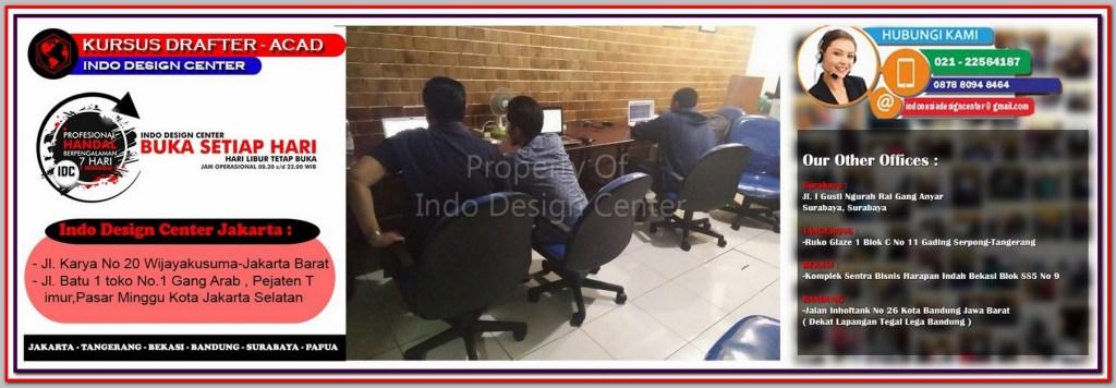 Kursus Gambar Kerja Di Kampung Rawa - Jakarta - Tangerang - Bekasi - Bandung - Surabaya