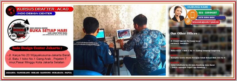 Tempat Kursus AutoCAD Di Bungur - Jakarta - Tangerang - Bekasi - Bandung - Surabaya
