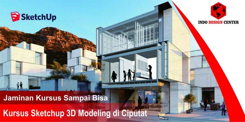 Kursus Sketchup 3D Modeling di Ciputat