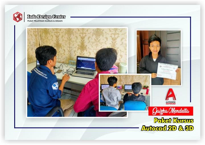 Kursus-AutoCAD-2D-3D-Mas-Gaizka-Mendeita-Indo-Design-Center-Tangerang-Header