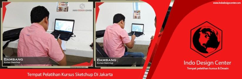 Tempat Pelatihan Kursus Sketchup Di Jakarta