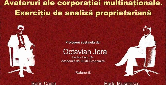 Carti in Dezbatere Avataruri ale corporatiei multinationale. Exercitiu de analiza proprietariana