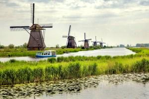 Kinderdijk Rotterdam Belanda