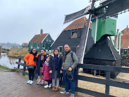 Desa Belanda Zaanse Schans