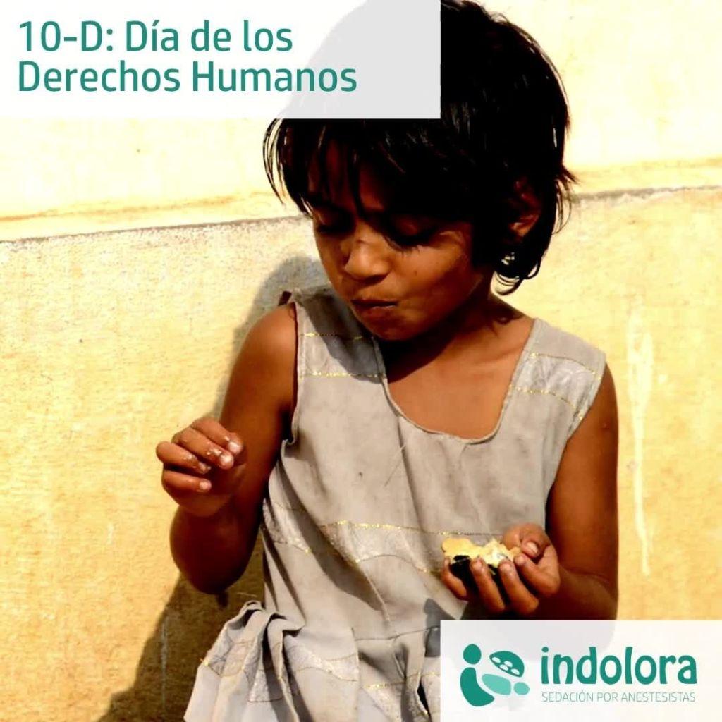 El Día de los Derechos Humanos se celebra cada 10 de diciembre, día en que, en 1