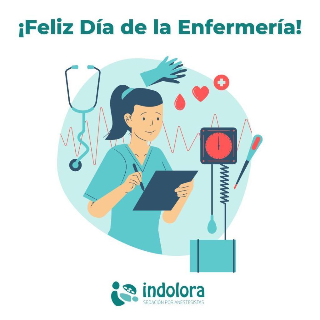 ¡Feliz Dia de la Enfermería! El 12 de mayo se celebra el Día Internacional de