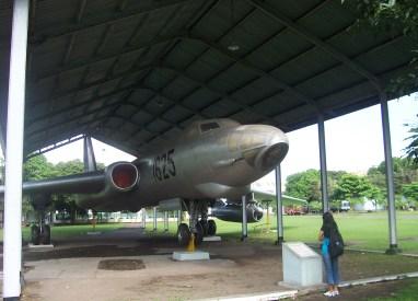 Tu-16 di Museum Dirgantara Yogyakarta