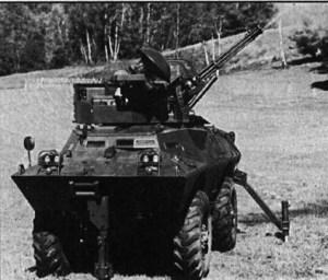 V-150 versi kanonVulcan 20mm. Digunakan untuk misi anti serangan udara