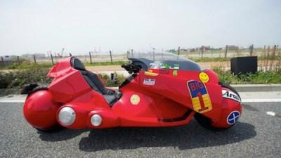 Replika sepeda motor Akira