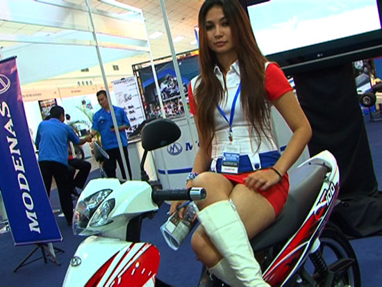 Modenas di MotoXpo Kuala Lumpur