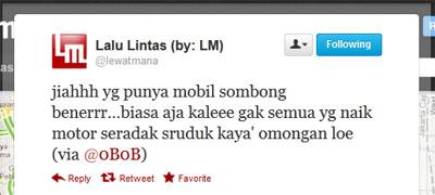 Tweet Kambing