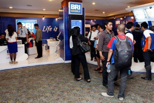 BRI Mobile at Indocomtech 2012