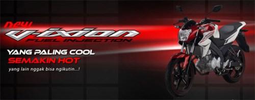Yamaha New Vixion Homepage