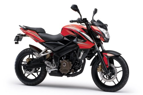 Kawasaki Bajaj Pulsar 200NS - Warna Merah (Passion Red)