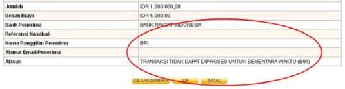 transaksi via internet banking danamon online