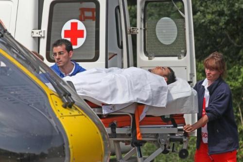 Pedrosa crash - motogp sachsenring