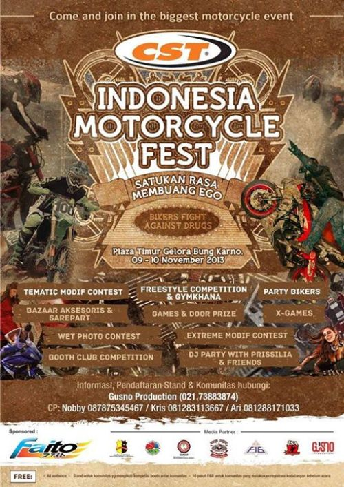 indonesia motorcycle fest 2013
