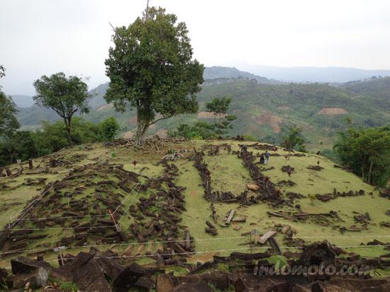 situs megalitikum gunung padang cianjur