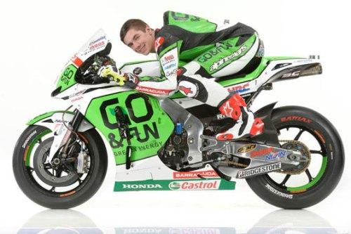 Scott Redding - Honda RCV1000R - MotoGP 2014