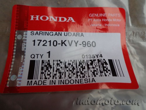 filter air cleaner honda beat