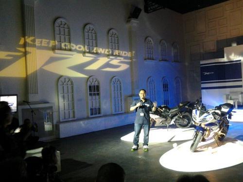 launching Yamaha R15 Jakarta